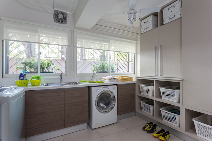 laundry room GUTMAN+LEHRER ARQUITECTAS Cocinas de estilo moderno