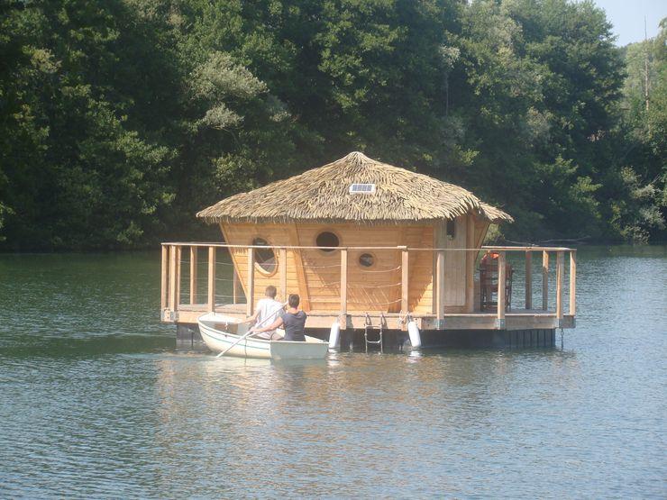 Cabane flottante pour 2 personnes - Lagon Les Cabanes des Grands Lacs Locaux commerciaux & Magasin originaux