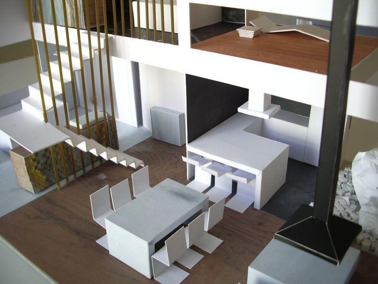 mae arquitectura Столовая комната в стиле модерн