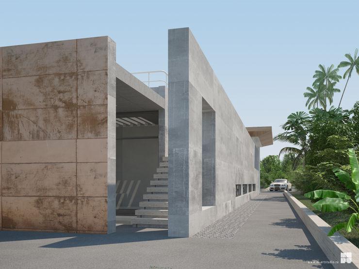 Studio of Architecture and Design 'St.art' Casas minimalistas