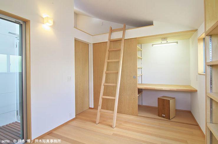 竹内建築デザインスタジオ Eclectic style bedroom