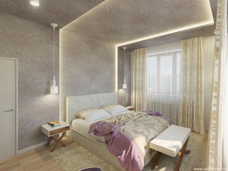 Спальня homify Спальня в скандинавском стиле