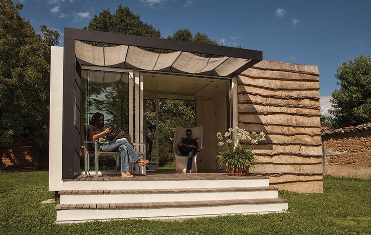 .oboo-outdoor Modern Bahçe