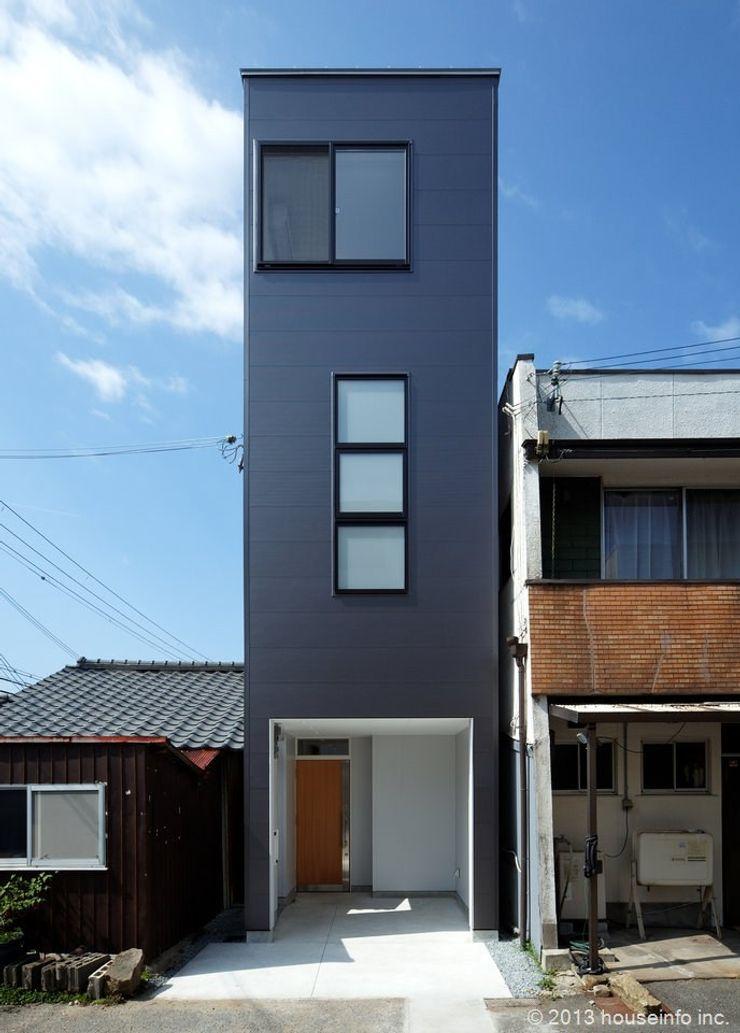 (株)ハウスインフォ Moderne Häuser Schwarz