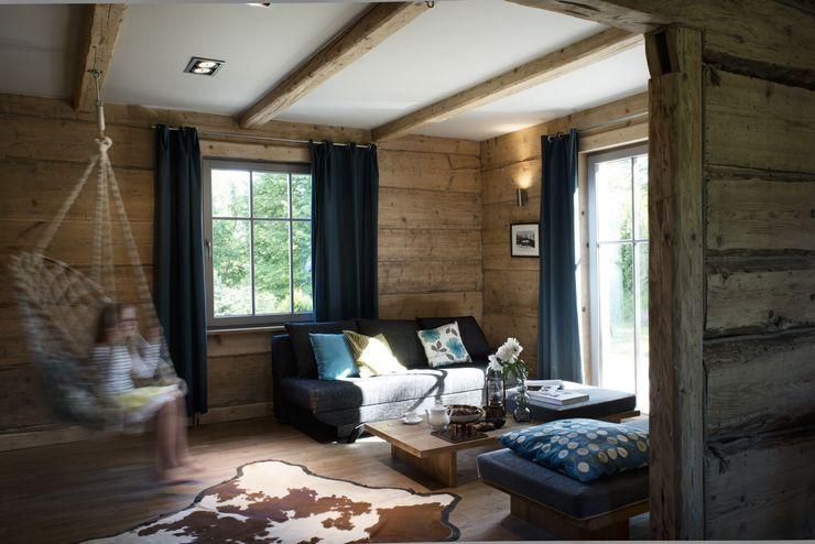 deco chata Living room