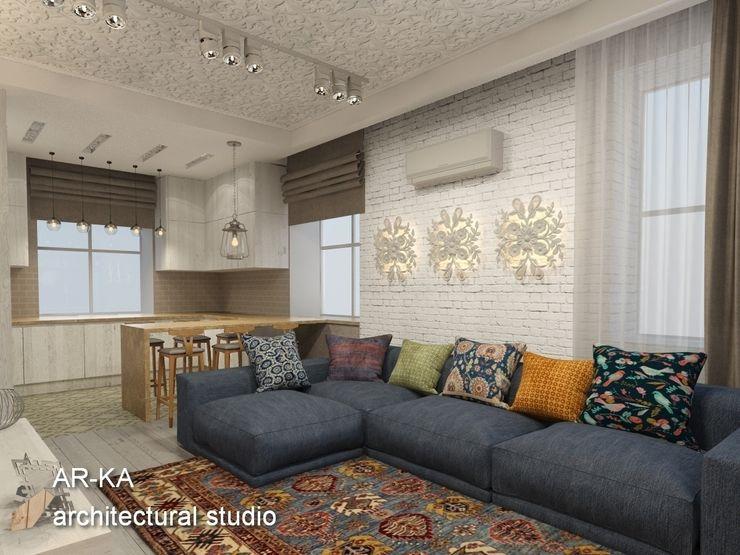AR-KA architectural studio Living room
