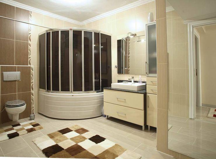 Yaptığımız işler Boz yapı inşaat tasarım ve mimarlık Modern Banyo