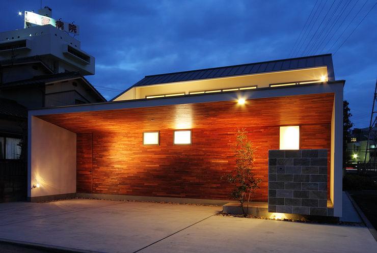 一級建築士事務所haus Casas de estilo asiático