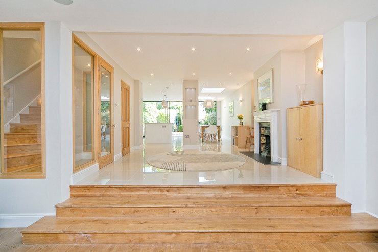 Private House – Highgate New Images Architects 모던스타일 다이닝 룸