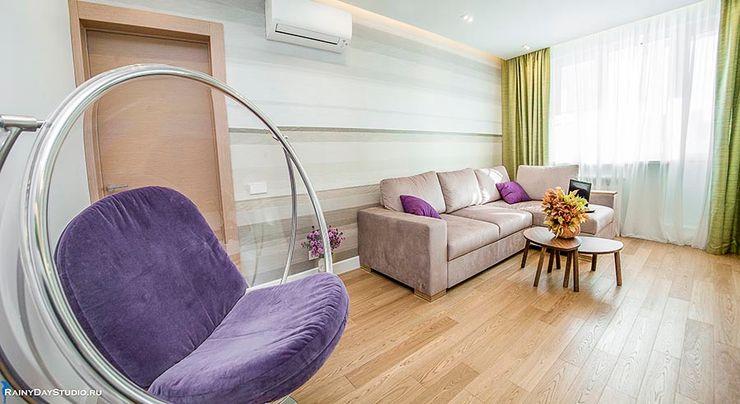 ДЕТАЛИ КВАРТИРЫ НА ОСЕННЕМ БУЛЬВАРЕ Zi-design Interiors Гостиная в стиле модерн