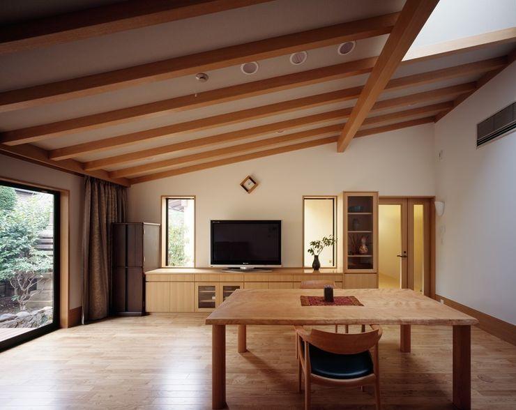 リビング 忘蹄庵建築設計室 和風デザインの リビング