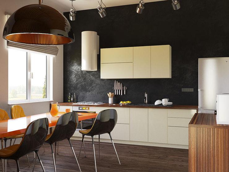 Чирвин Иван Industrial style kitchen