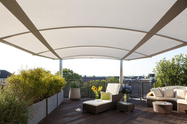 Ausgefeilte Wölbungstechnik C4sun Balkon, Veranda & TerrasseMöbel