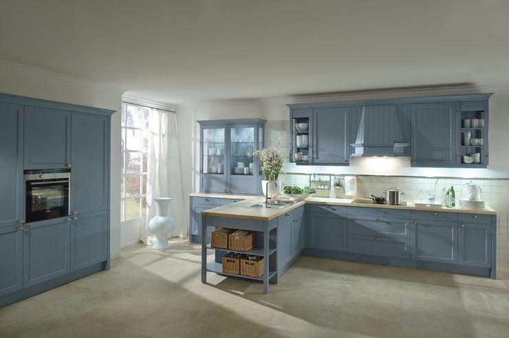 """Landhausküche """"Bristol achatblau"""" Dick Küchen Landhaus Küchen"""