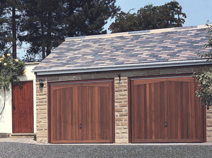 Garage Doors in Timber The Garage Door Centre Limited Гаражі та навіси