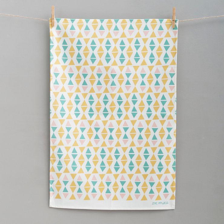 Off Kilter Tea Towel Zoe Attwell CuisineAccessoires & Textiles