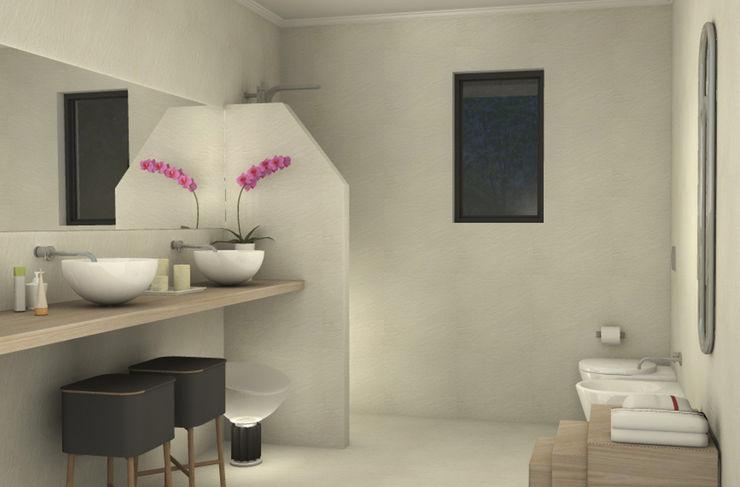 Valentina Cassader Modern bathroom