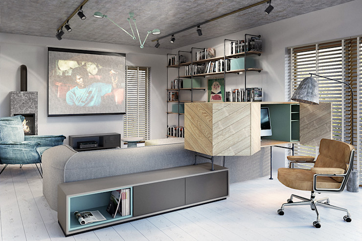 razoo-architekci Salones industriales