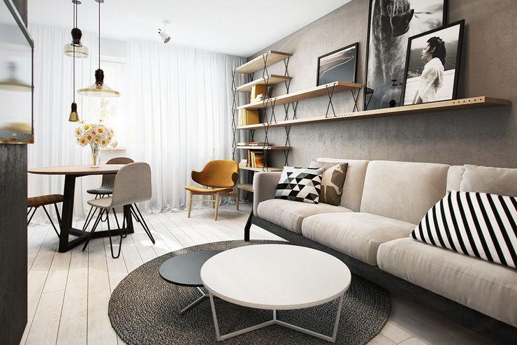 razoo-architekci Salones escandinavos