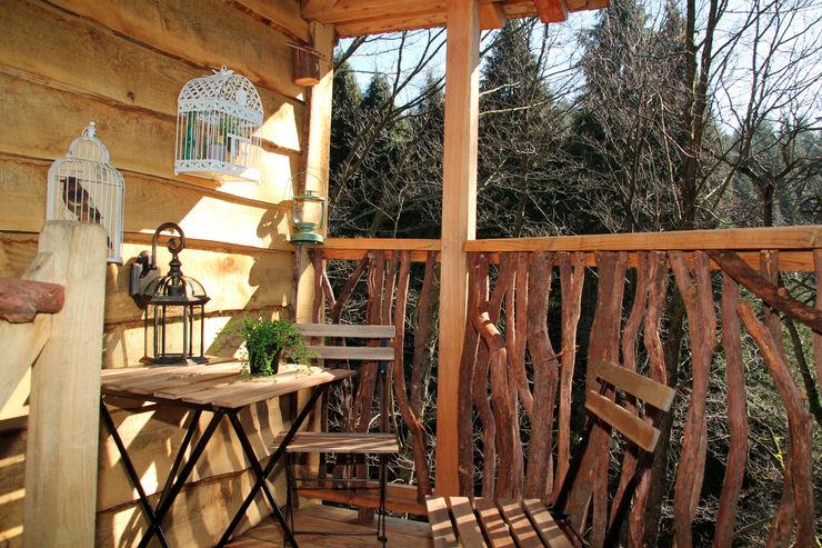 Cabaña Txantxangorria Cabañas en los árboles Hoteles de estilo escandinavo