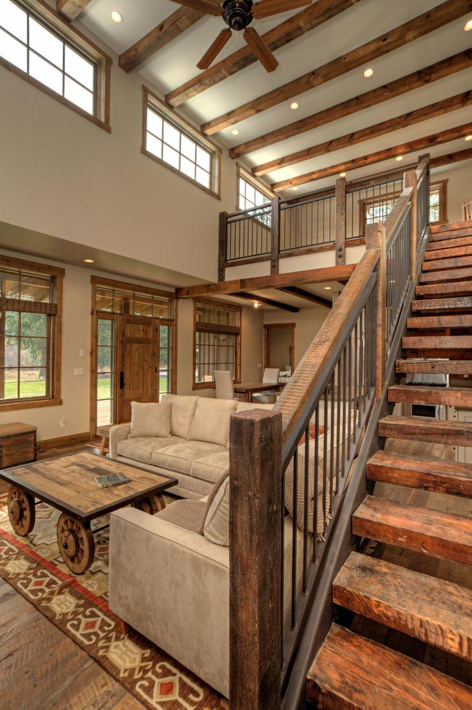 Lucky 4 Ranch Uptic Studios Living room