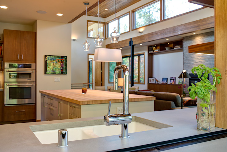 Denver Street Lot 7 Uptic Studios Cocinas de estilo moderno