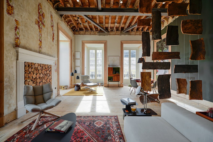 Spaceroom - Interior Design Salas de estilo moderno