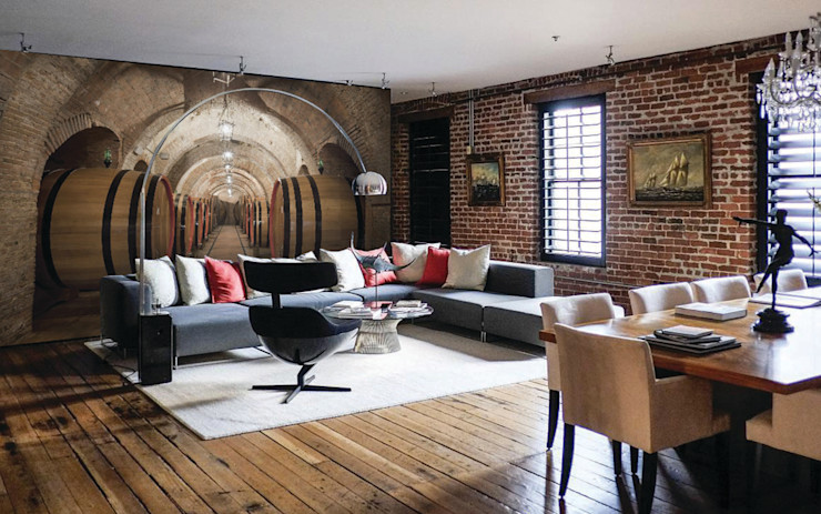 Creativespace Sartoria Murale Ściany i podłogiTapety