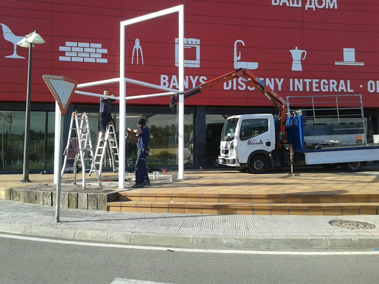 CIERRES METALICOS AVILA, S.L. Negozi & Locali Commerciali