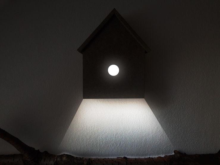 LAUERDESIGN Living roomLighting Engineered Wood