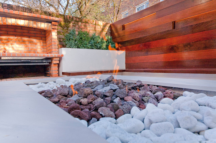 Private House - Holland Park New Images Architects Modern garden