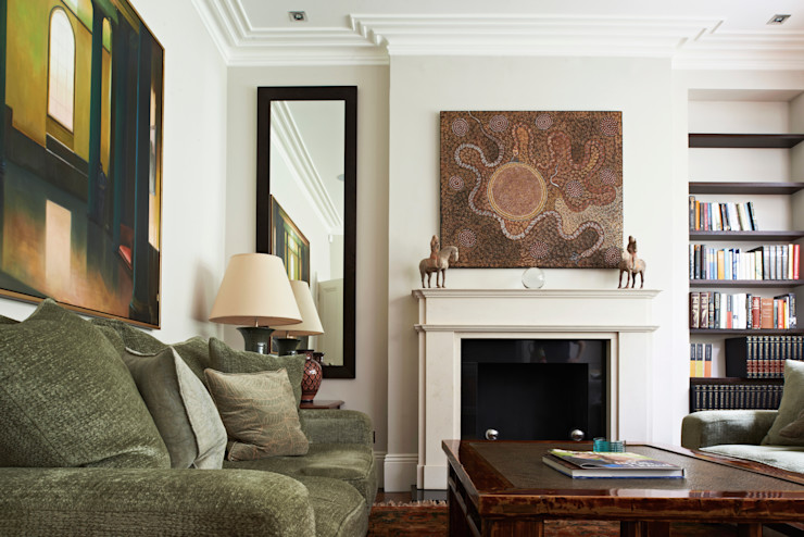 St Peter's Road, London Nigel Bird Architects Salones clásicos