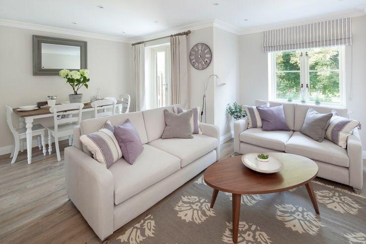 Cotswold Cottage Emma & Eve Interior Design Ltd Modern living room