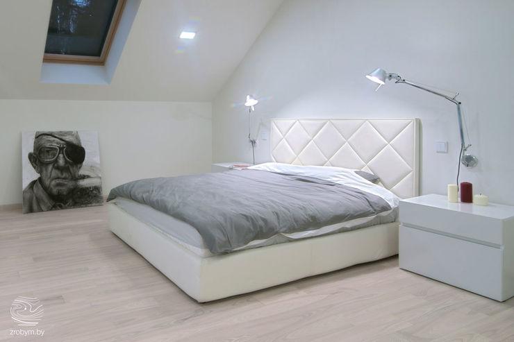 ZROBYM architects Minimalistische Schlafzimmer