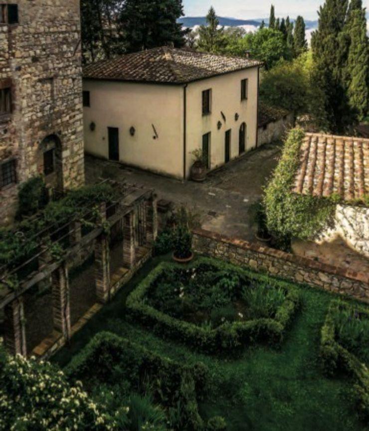 Esterni Studio Mazzei Architetti Giardino in stile mediterraneo