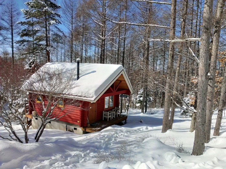 Small Cottage at Mt.Yatsugatake, Japan Cottage Style / コテージスタイル Country style house