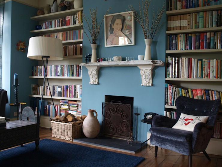 Blackheath London Townhouse Egon Design Modern living room