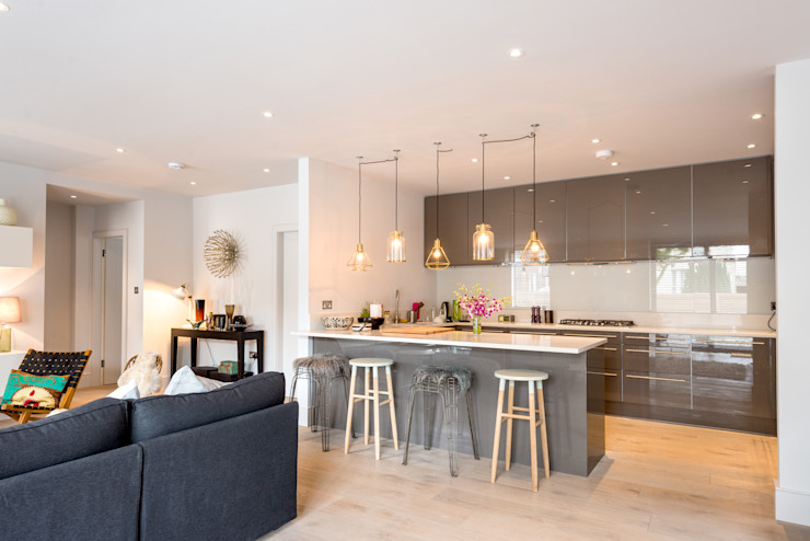 Cedar House The Chase Architecture KitchenLighting