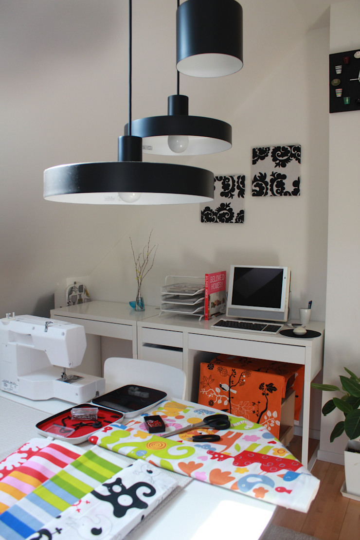 iie design モデルハウス 一級建築士事務所 iie design 北欧デザインの 多目的室