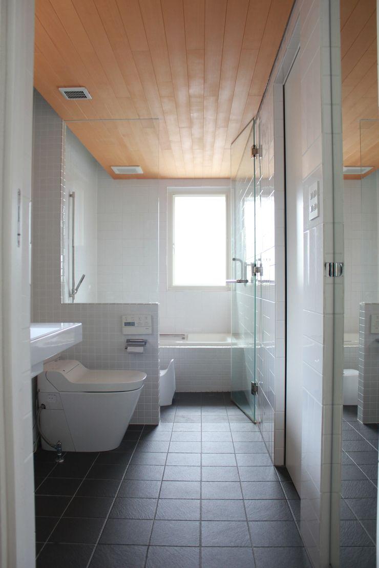 iie design モデルハウス 一級建築士事務所 iie design モダンスタイルの お風呂