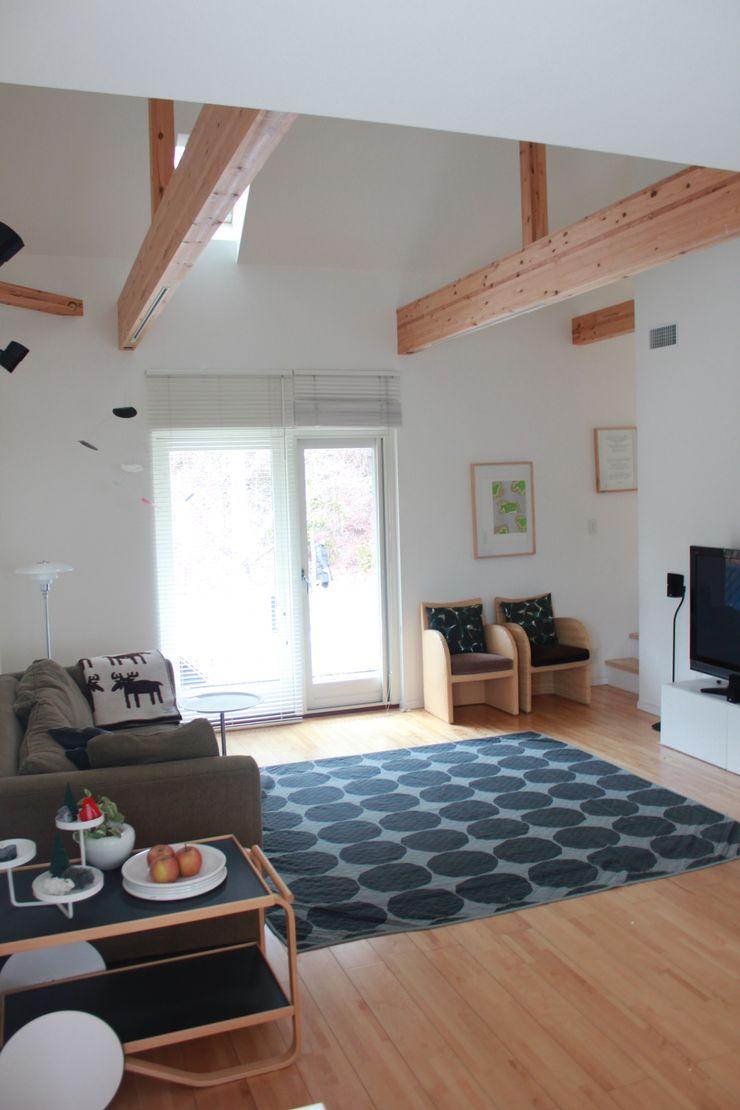 iie design モデルハウス 一級建築士事務所 iie design 北欧デザインの リビング