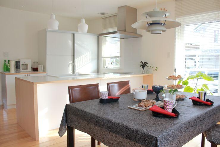 iie design モデルハウス 一級建築士事務所 iie design 北欧デザインの ダイニング