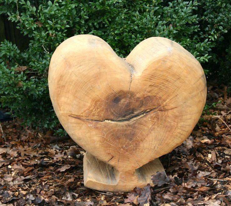 Herz Holzwerkerin Eving GartenAccessoires und Dekoration