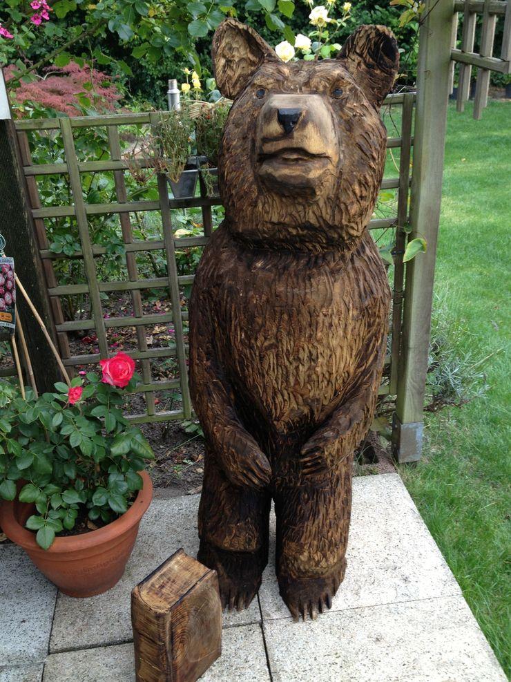Bär Holzwerkerin Eving GartenAccessoires und Dekoration