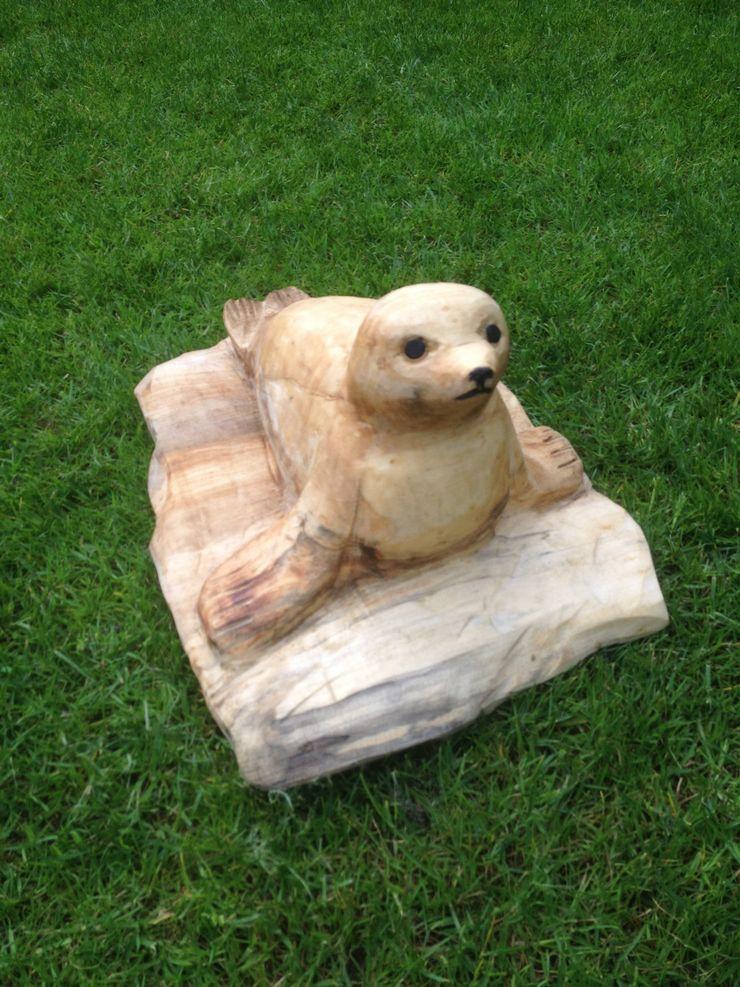 Seehund Holzwerkerin Eving GartenAccessoires und Dekoration