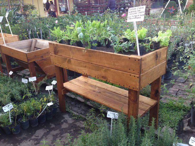 Mundo Garden BahçeSaksı & Vazolar Masif Ahşap Ahşap rengi
