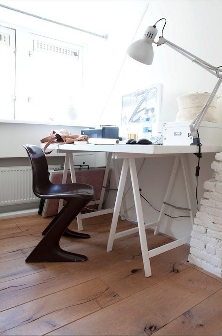 Werkkamer ontwerpplek, interieurarchitectuur Moderne studeerkamer