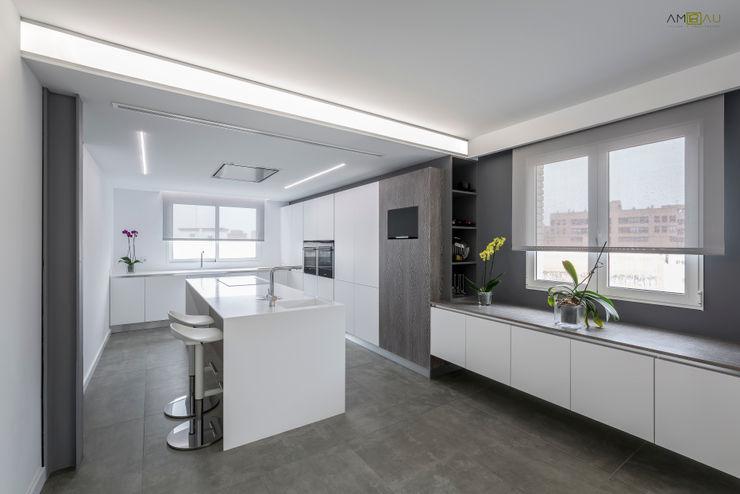 amBau Gestion y Proyectos Cocinas minimalistas