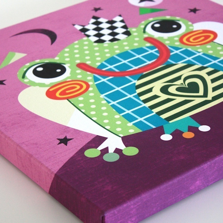 Fairytale Frog Nursery Canvas by Witty Doodle Witty Doodle ArtworkPictures & paintings