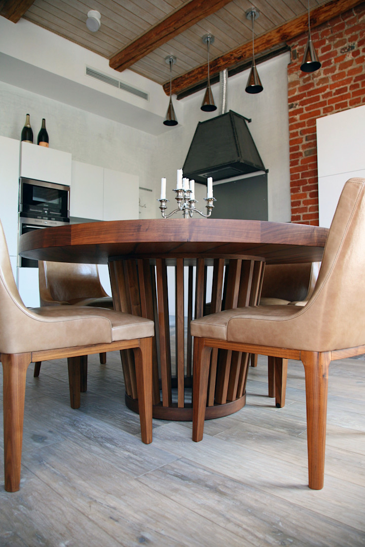 Дизайн-студия интерьера 'ART-B.O.s' Industrial style kitchen